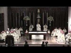 Bishop Edgar da Cunha Installed as New Bishop of the Fall River Diocese