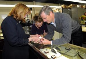 Charlie Baker at Jewelry Outlet