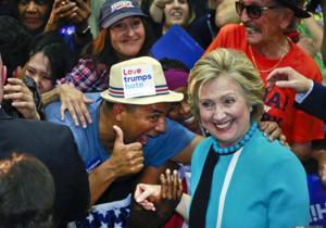 APTOPIX DEM 2016 Clinton