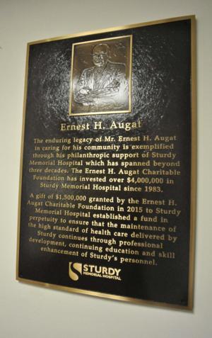 Augat Foundation Plaque GN