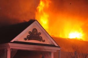Lakeview Pavilion Fire