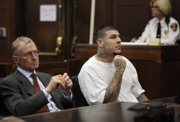 Jury tipster in hernandez murder trial revealed in court for Aaron hernandez neck tattoo meaning