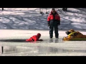 Firefighter Ice Rescue