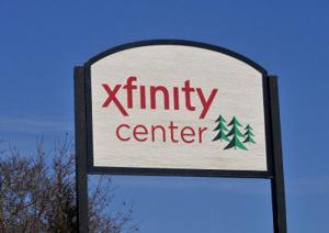 Xfinity Center Sign