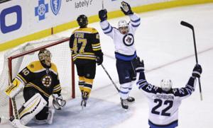 Jets Bruins Hockey