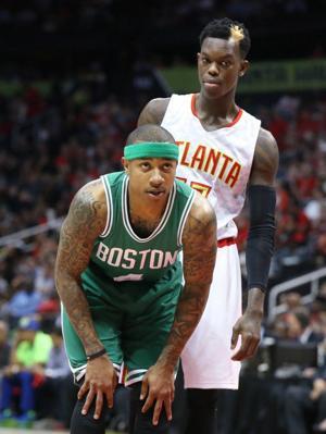 Celtics Hawks Basketball