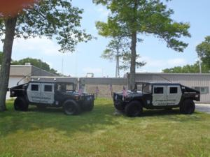 Rehoboth Police HumVees