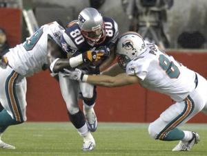NFL Patriots Miami Football