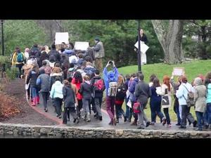 Wheaton College Ferguson Protest