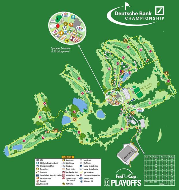 TPC Boston course layout The Sun Chronicle Home