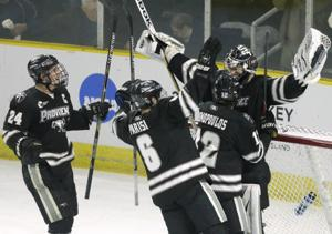 NCAA Providence Denver Hockey