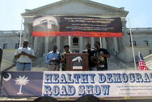 Group protesting S.C.'s Medicaid stance