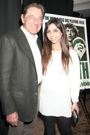 Joe Namath Daughter Jessica http://thetandd.com/sports/t-d-online-special-namath-says-sanchez-will-be-fine/article_0af6fb70-48a8-11e1-8d59-0019bb2963f4.html