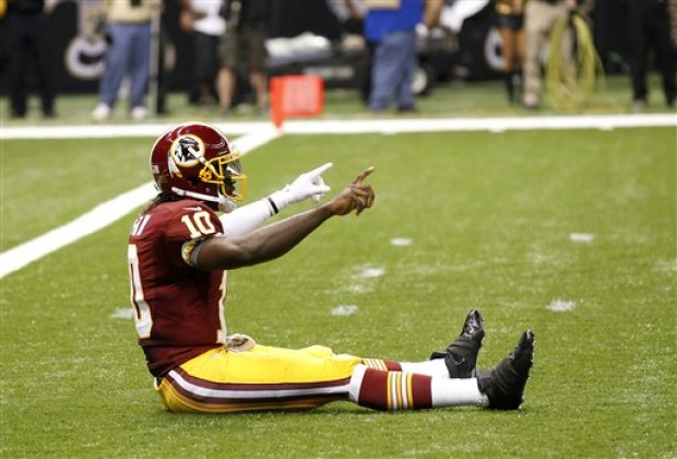 2012-09-16T09:00:00Z Redskins RG3 says 'Griffining' is 'pretty