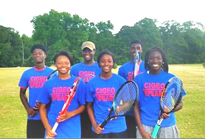 18U JTT Tennis team Orangeburg