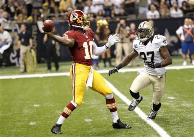 Redskins Rg3 Griffining Redskins RG3 says 'G...