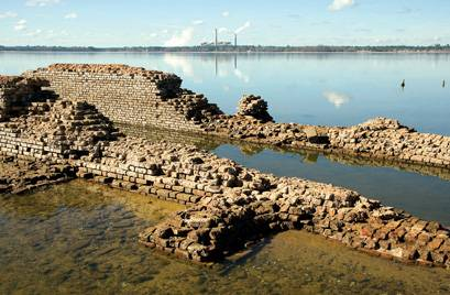 A bygone era resurfaces drought brings to light treasures for Lake moultrie fishing