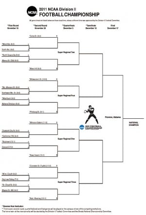 division two football playoffs ncaa playoff bracket