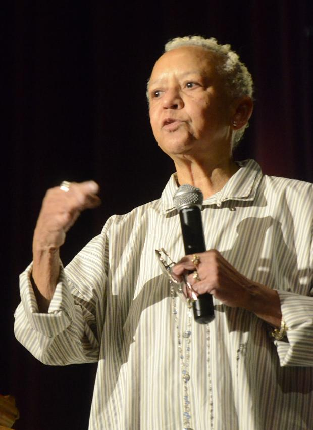 You must be unintimidated by your own th by nikki giovanni for Giovanni adams
