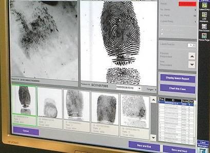 Afis Police Processing Fingerprints In Minutes Not