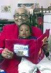 Alma Baxter Ulmer and 1-year-old great-grandson, Kruz Gordon.
