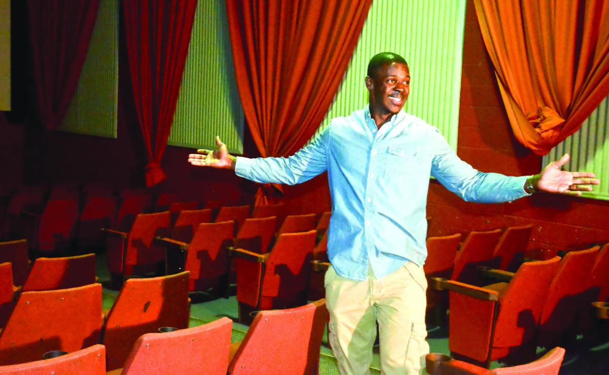 vacant theater becomes church new local cinema being