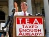 Humbled S.C. governor gets tea party cheers, jeers