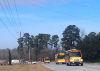 Buses leaving Lake Marion High School