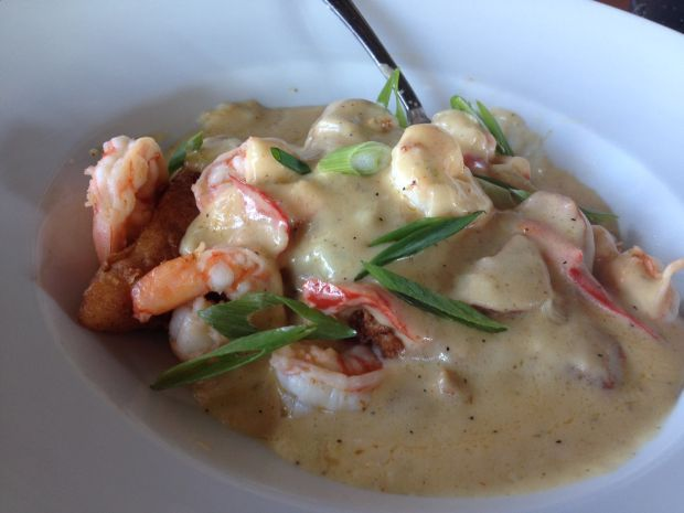 Feasting on shrimp and grits | The Curious Foodie ...