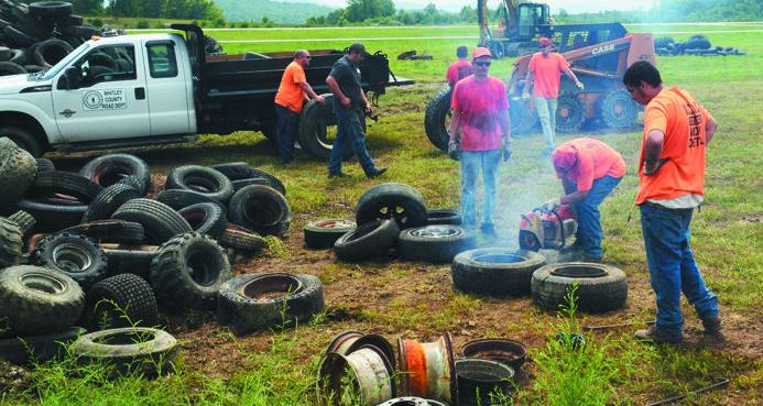 Whitley County participates in tire recycling program ...
