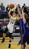 Bandon girls move into first place