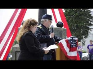 Marshfield Sailor-Soldier Monument rededicated