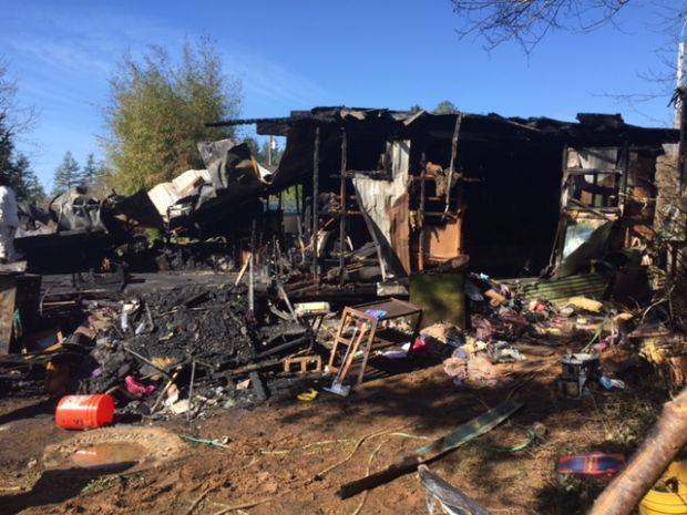 Three dead in Brookings mobile home fire