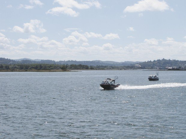 Chasing chinook in the coos basin for Coos bay fishing