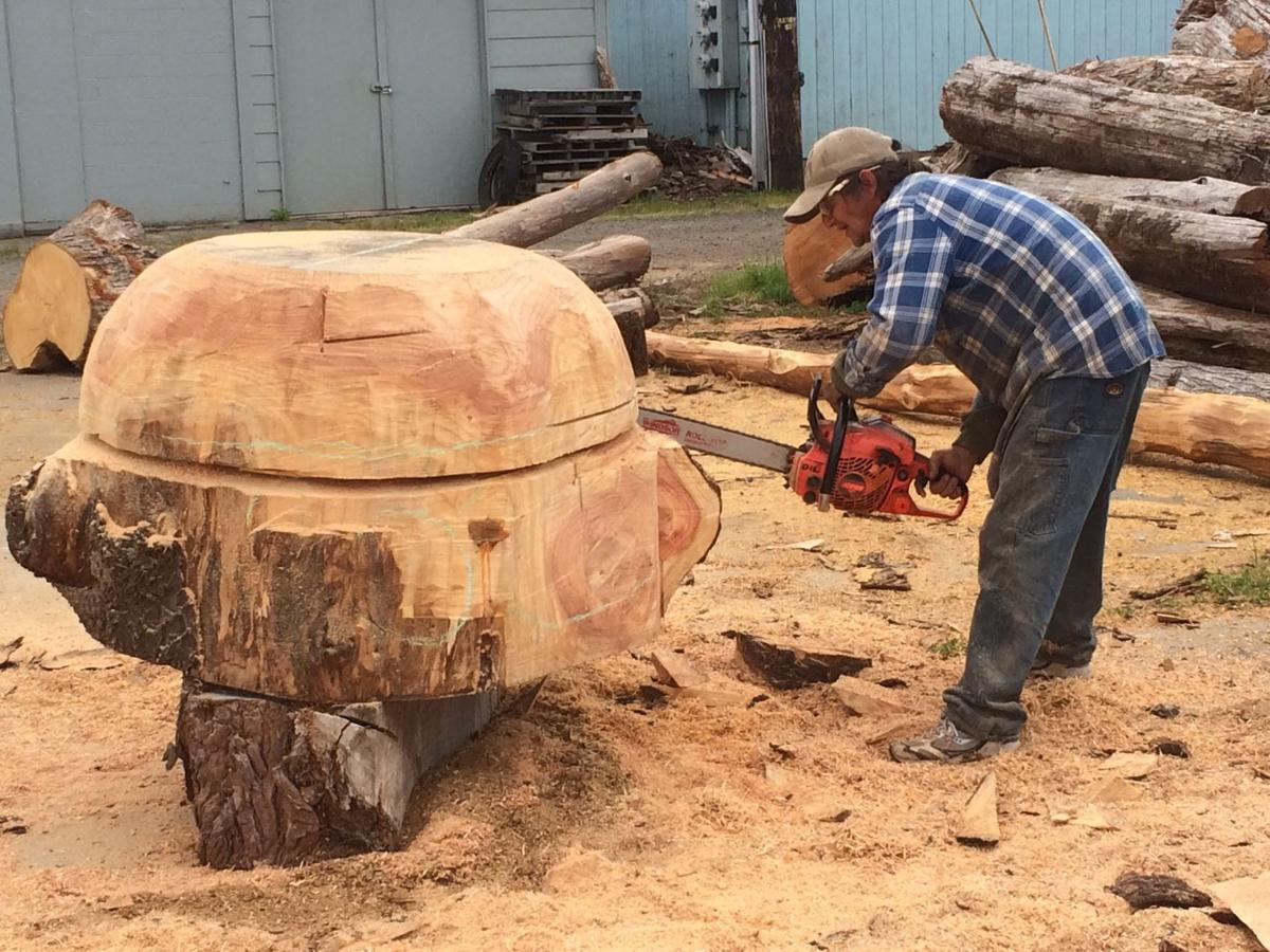 Woodcarving classes worth the trip to reedsport south