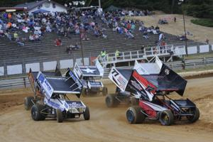 Winged Sprint Cars at Coos Bay Speedway