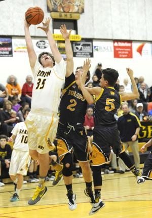 Bandon vs. Toledo Boys Basketball