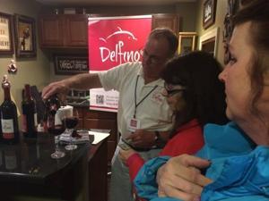 Wine tasting in Reedsport