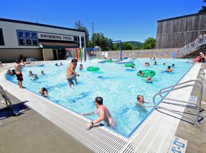 Keeping Cool at the Coquille Pool