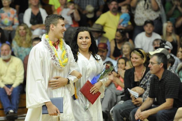 Myrtle Point graduation: Sentiment and a selfie
