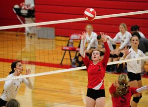 North Bend at Coquille Volleyball