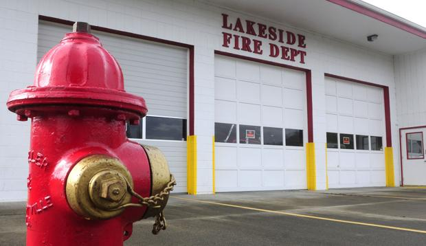 Lakeside Fire tries to rise from ashes