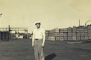 Henry Hansen, ILWU Local 12 longshoreman in undated photo