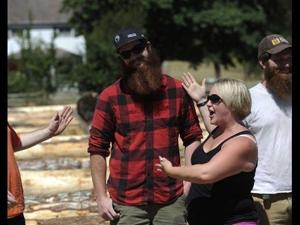 Men Face Off in Burly Beard Competition at White Cedar Days