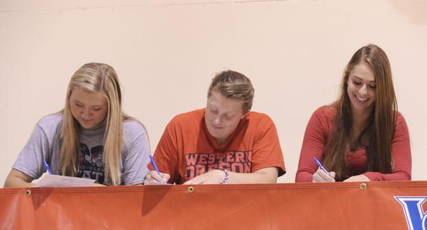 Three SWOCC athletes sign with schools