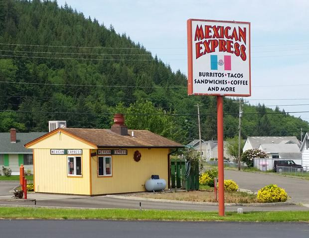 Out of the Way Eateries: Mexican Express
