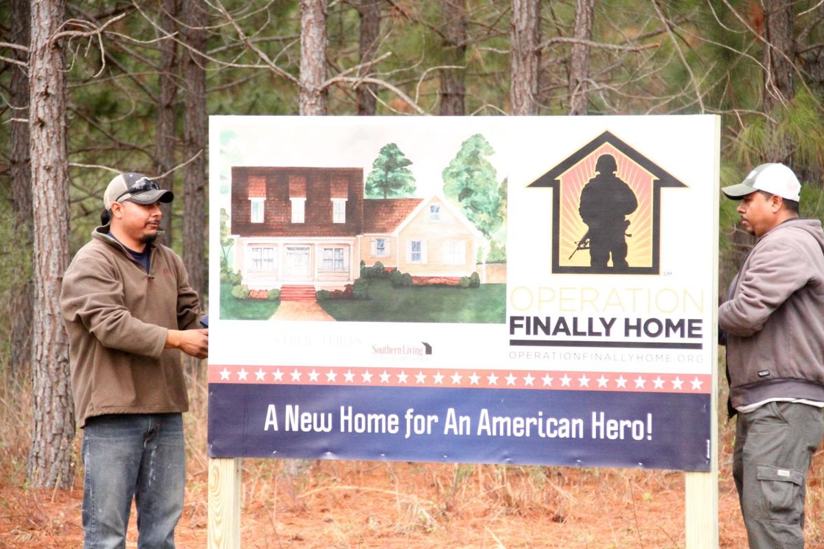 Operation finally home building house for veteran news for Operationfinallyhome org