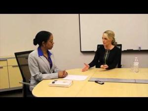 Prof. Kai Walker interviews Former White House Press Secretary Dana Perino