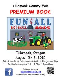 2015 Tillamook County Fair Premium Book