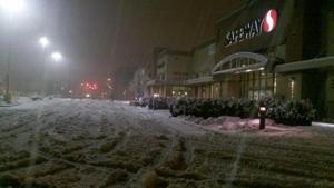 Snow in Tillamook